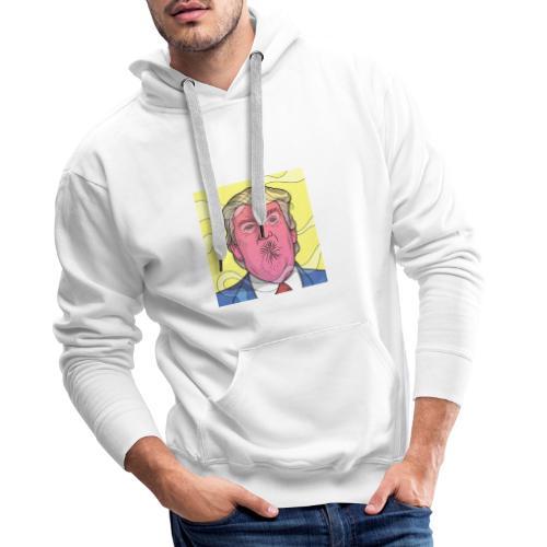 FuckTrumpButt - Sweat-shirt à capuche Premium pour hommes