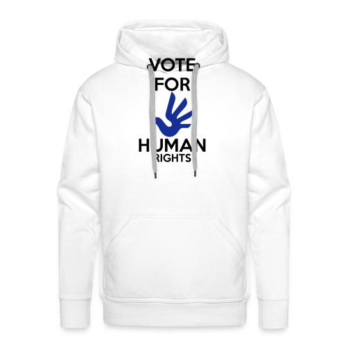 Vote for Human Rights - Mannen Premium hoodie
