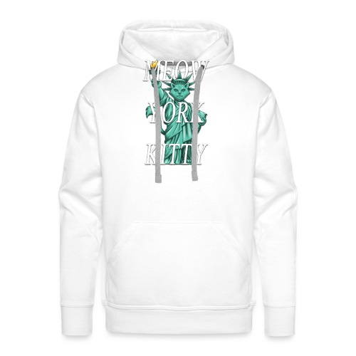Meow York Kitty - Men's Premium Hoodie