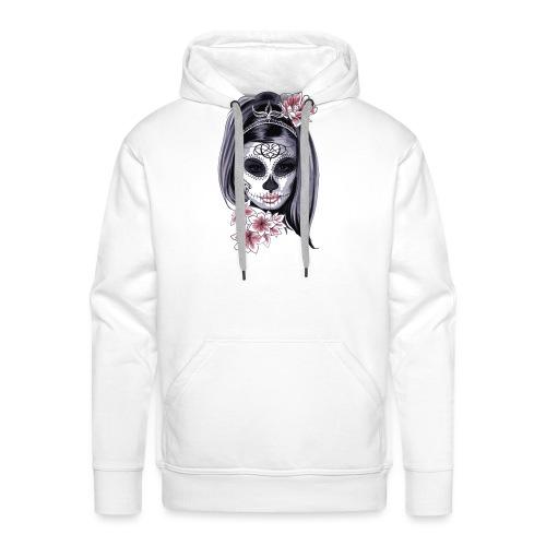 mask muerta - Sweat-shirt à capuche Premium pour hommes