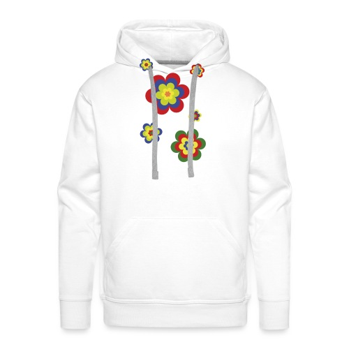 limited edition 3b flower power - Männer Premium Hoodie