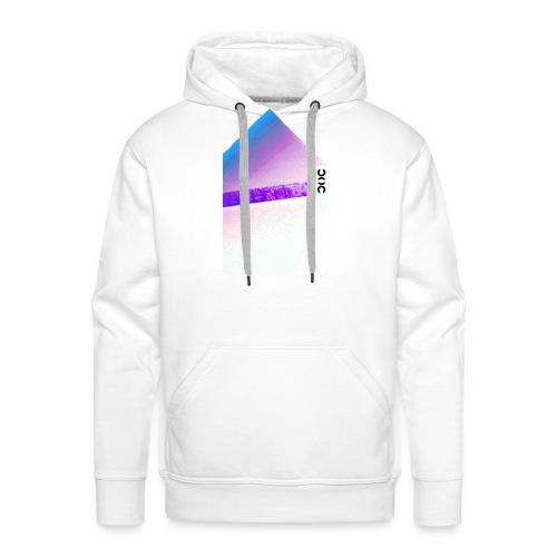 PYRAMID - Sweat-shirt à capuche Premium pour hommes