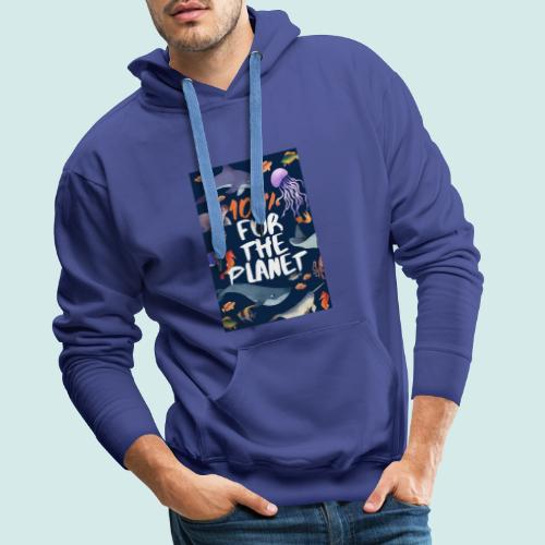 100% for the planet - Männer Premium Hoodie