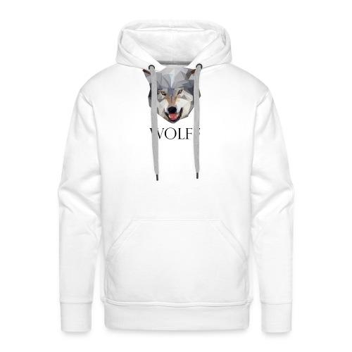 Wolff tshirt Ladies - Mannen Premium hoodie