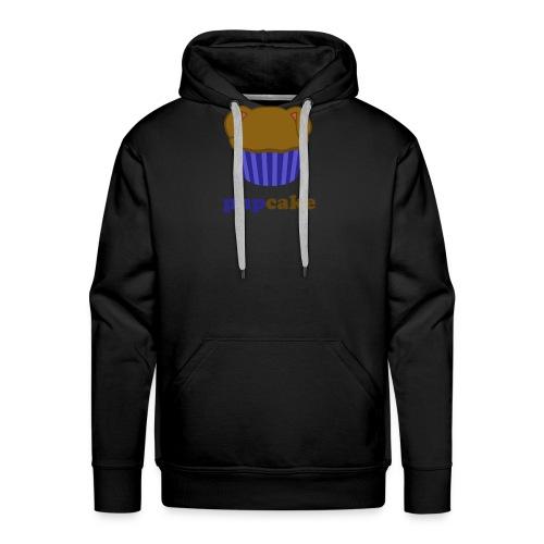 pupcake blauw - Mannen Premium hoodie