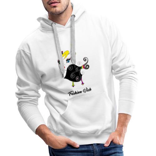 Fashion Vick - Sweat-shirt à capuche Premium pour hommes