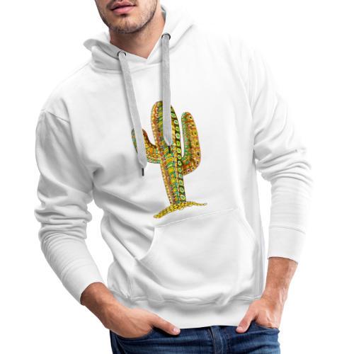 Le cactus - Sweat-shirt à capuche Premium pour hommes