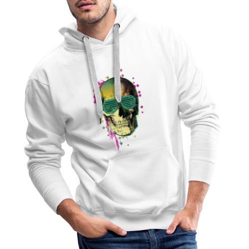 squelette2 - Sweat-shirt à capuche Premium pour hommes