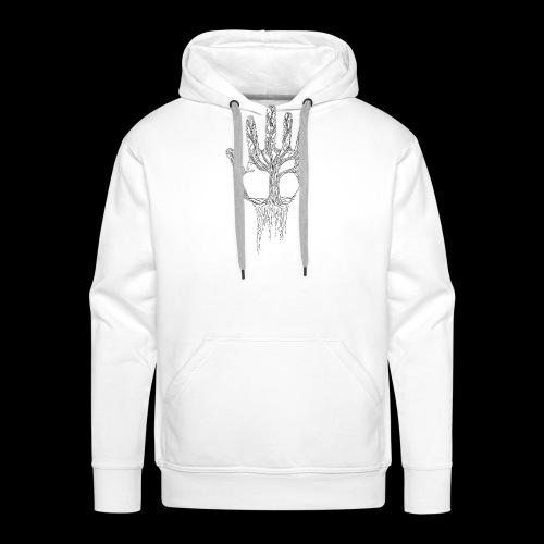 lignes de vie - Sweat-shirt à capuche Premium pour hommes