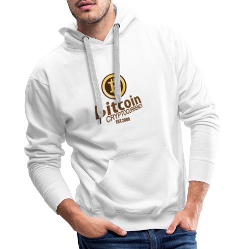Bitcoin Cryptocurrency - Mannen Premium hoodie