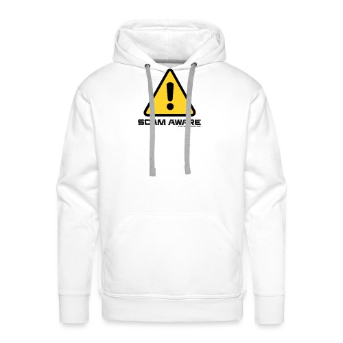 scam-aware.com's line of clothing - Men's Premium Hoodie