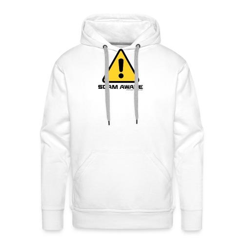 scam-aware.com's line of clothing - Men's Premium Hoodie