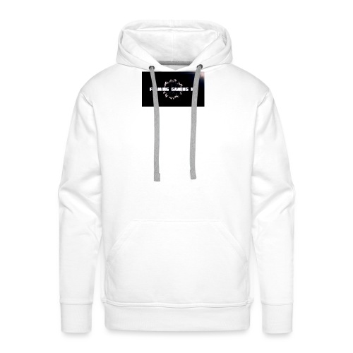 FLAMING GAMING, pre release merch - Men's Premium Hoodie