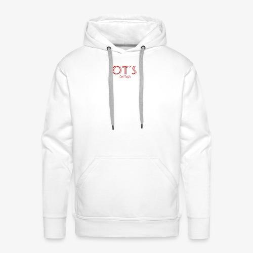 OT's - Sweat-shirt à capuche Premium pour hommes