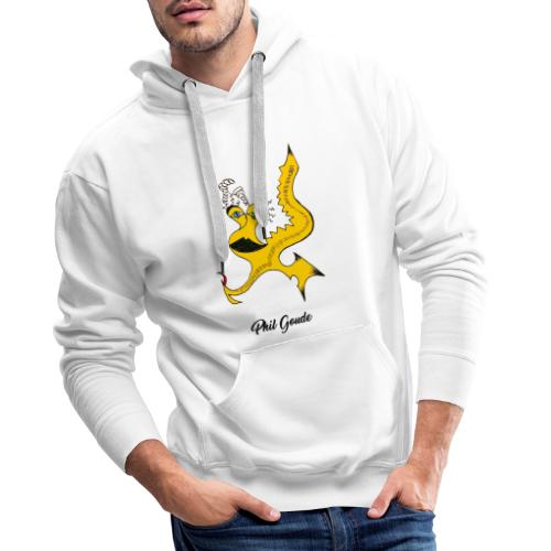 Phil Goude - Sweat-shirt à capuche Premium pour hommes