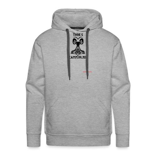 THOR's-RAMMjolnir - Sweat-shirt à capuche Premium pour hommes