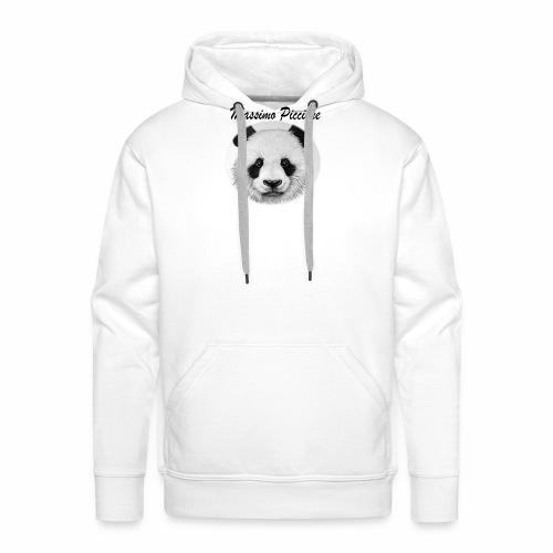 Panda Collection - Felpa con cappuccio premium da uomo