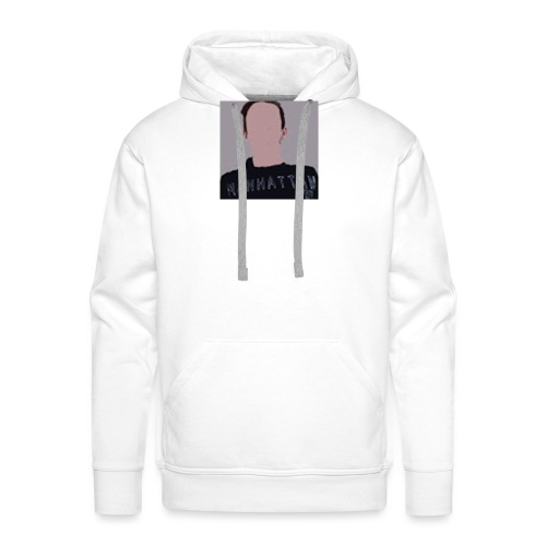 its my old logo - Men's Premium Hoodie