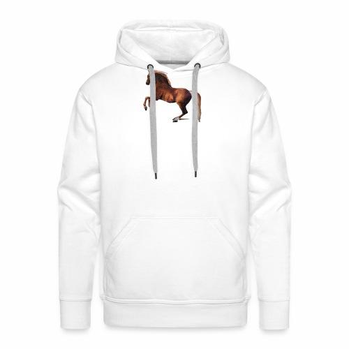 Pferd gemalt - Männer Premium Hoodie