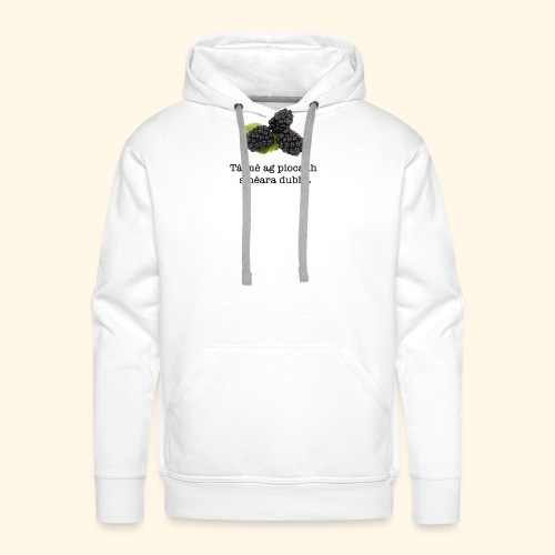 Picking blackberries - Men's Premium Hoodie