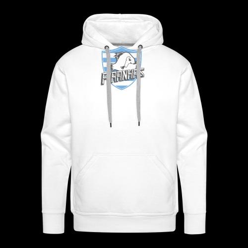 Logo Piranhas v5 - Sweat-shirt à capuche Premium pour hommes
