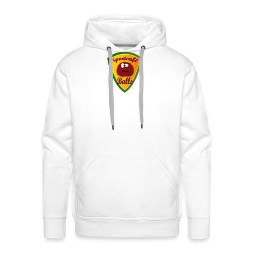 Logo Sportcafé Balls - Mannen Premium hoodie