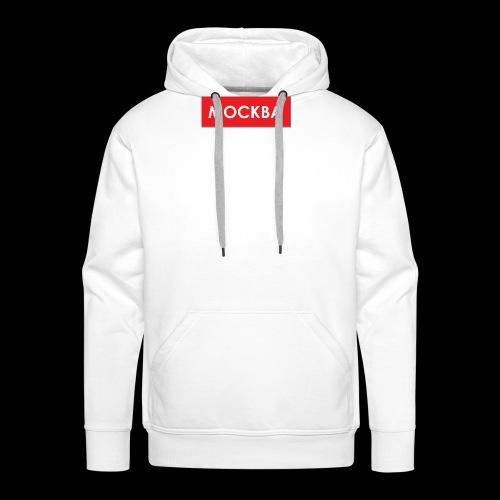 Moskau - Utoka - Männer Premium Hoodie