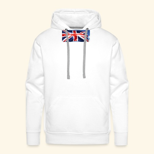 UK flag - Men's Premium Hoodie
