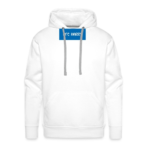 The box logo design - Men's Premium Hoodie
