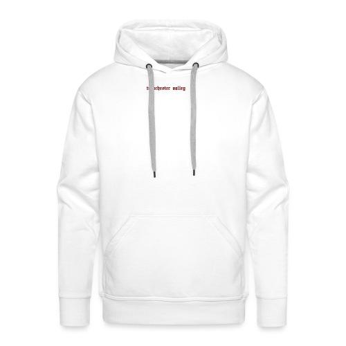 logo trenchester valley - Sweat-shirt à capuche Premium pour hommes