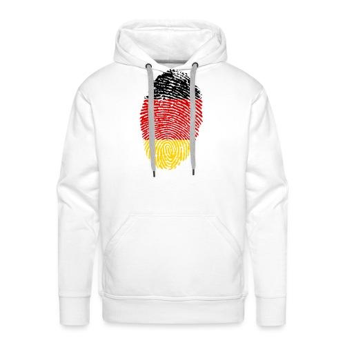 GERMANY FINGERPRINT - Men's Premium Hoodie