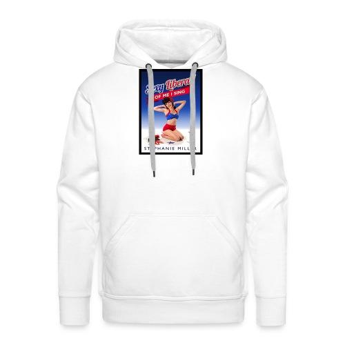 Stephanie Politics - Mannen Premium hoodie