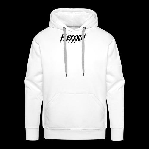 FleXXXin Logo - Felpa con cappuccio premium da uomo