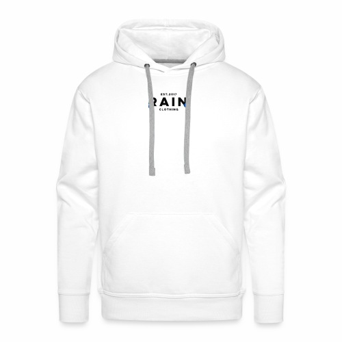 Rain Clothing Tops -ONLY SOME WHITE CAN BE ORDERED - Men's Premium Hoodie