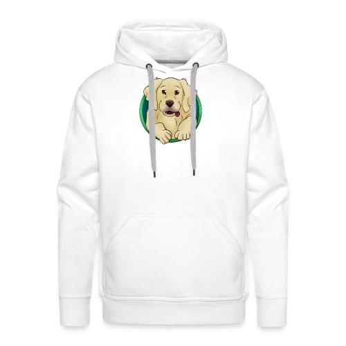 Hunde Portrait - Labrador Welpe - Männer Premium Hoodie