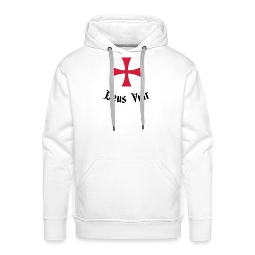 Deus Vult - Mannen Premium hoodie