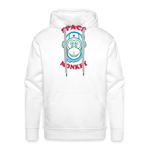 Space Monkey - Sweat-shirt à capuche Premium pour hommes