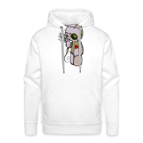 voodoo doll - Sweat-shirt à capuche Premium pour hommes