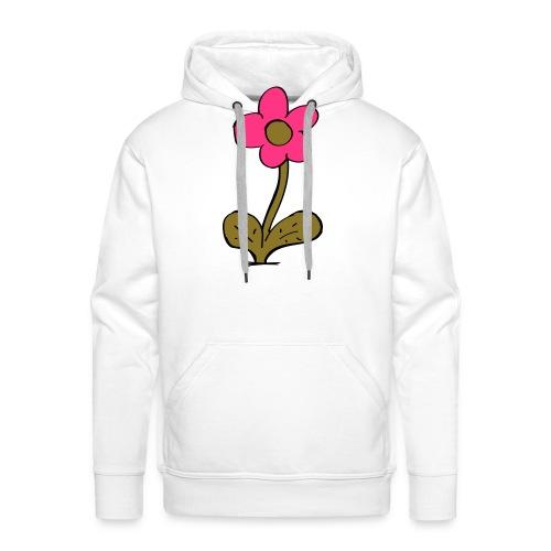 flowershirt-ai - Mannen Premium hoodie