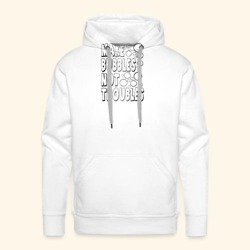Bubbles002 - Mannen Premium hoodie