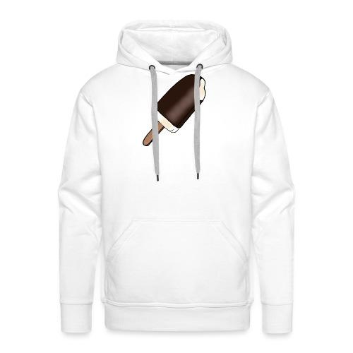 Eis am Stiel mit Schokoladenüberzug - Männer Premium Hoodie
