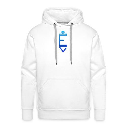 EGO CLAN - Sweat-shirt à capuche Premium pour hommes
