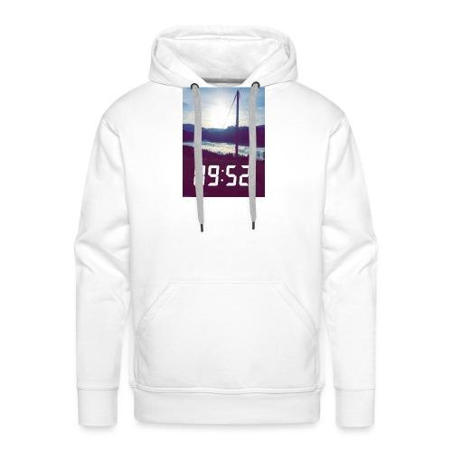 Snap 9h52 - Sweat-shirt à capuche Premium pour hommes