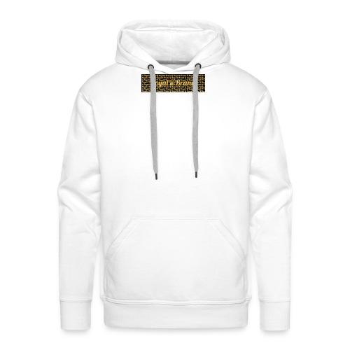 Royal Brand derde collectie - Mannen Premium hoodie