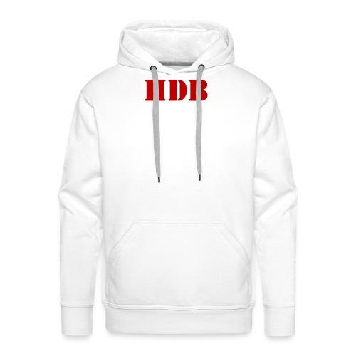 HDB Mok binnenkant rood - Mannen Premium hoodie