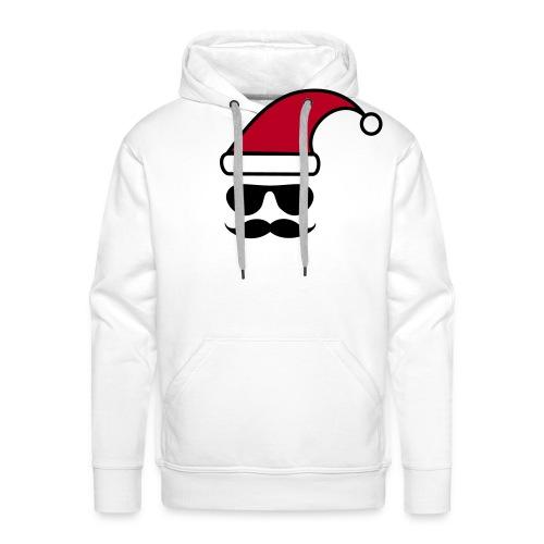 Weihnachtshipster - Männer Premium Hoodie