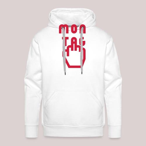 26-30 Lazy Montag - Männer Premium Hoodie