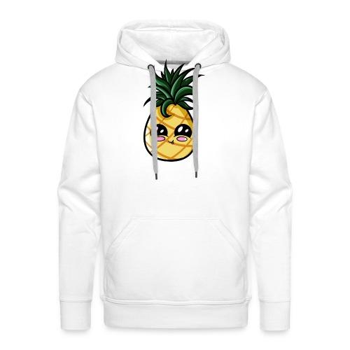 Ananas Kawaii - Sweat-shirt à capuche Premium pour hommes