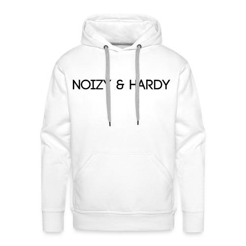 Noizy & Hardy Logo - Männer Premium Hoodie