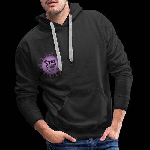 stay at home 3 - Men's Premium Hoodie